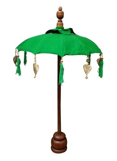 Lyn Home & Decor Bali Şemsiyesi Yeşil